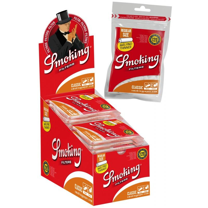 FILTROS SMOKING THINNER CAJA 25 BOLSAS