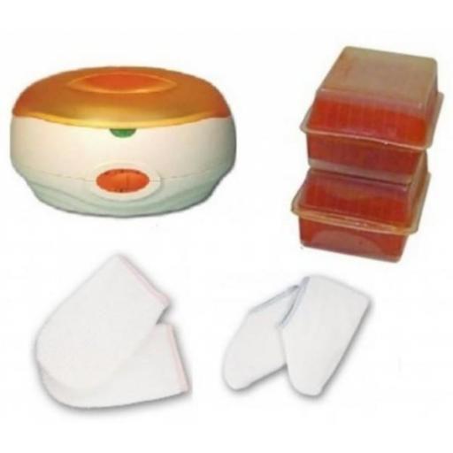 Kit Parafina Completo con Calentador 3 Litros