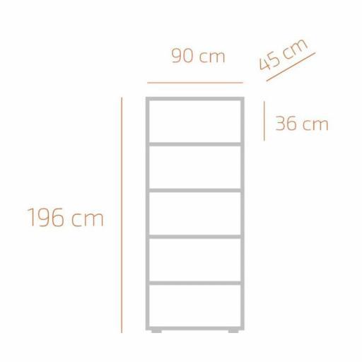Armario 2 Puertas superiores y 3 Inferiores [1]