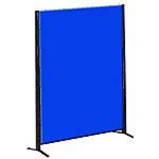 Biombo Separador Azul