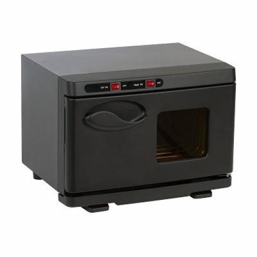 Calentador y Esterilizador Toallas Negro 7 L