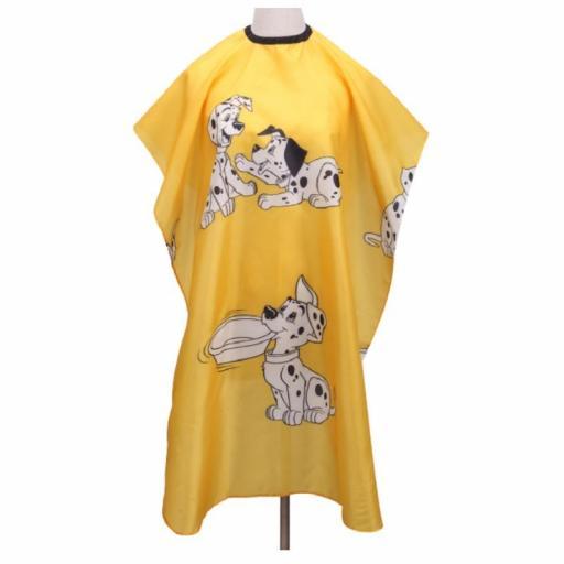 Capa Infantil Peluqueria Amarilla