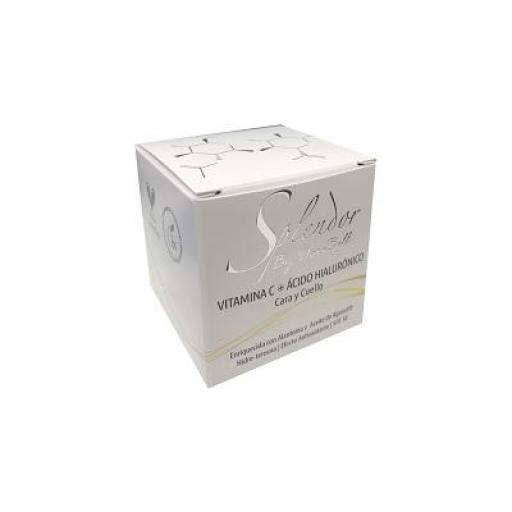 Crema Antienvejecimiento con Vitamina C