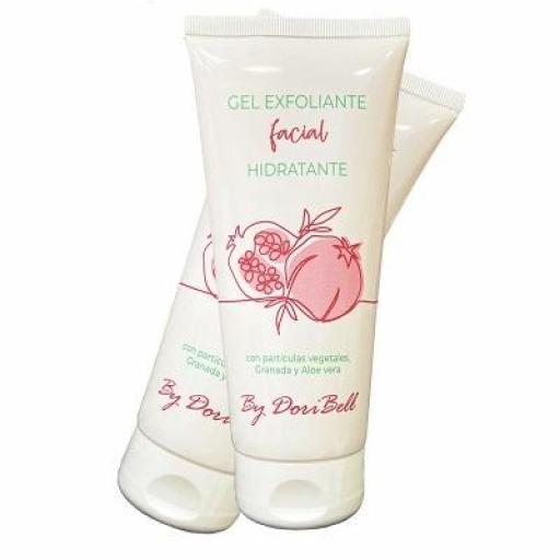 Gel Exfoliante Facial Hidrante 200 ml