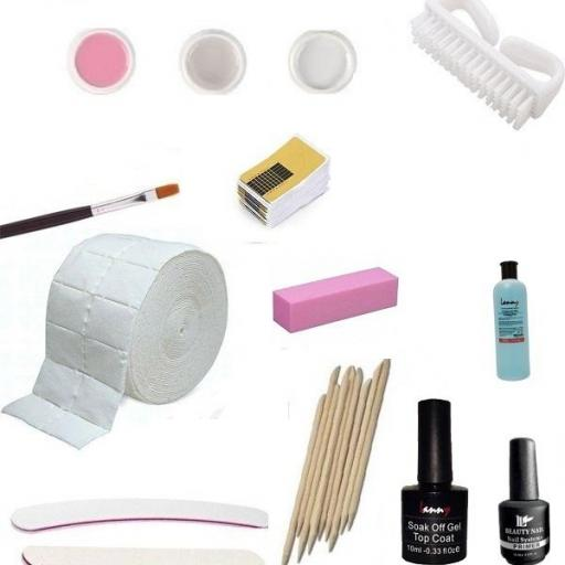 Kit Profesional Gel UV