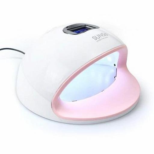 Lampara Uñas 2 en 1 LED/UV Sun5 S 72 w