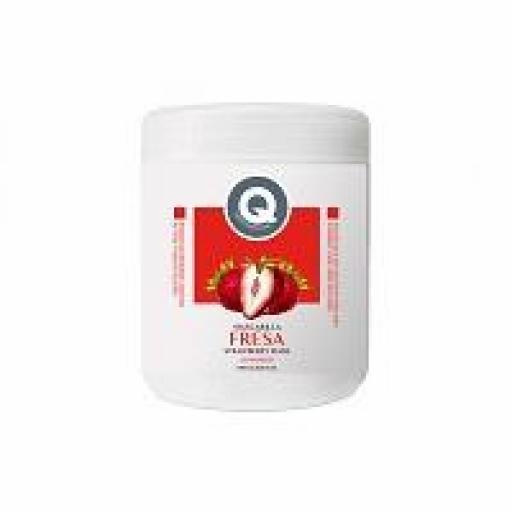 Mascarilla Fresa y  Nata 1000 ml