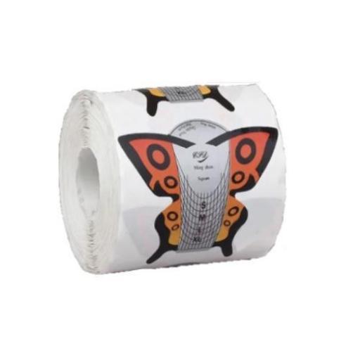 Moldes Mariposa Uñas 300 unidades