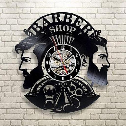 Reloj de Pared Barberia Style 1