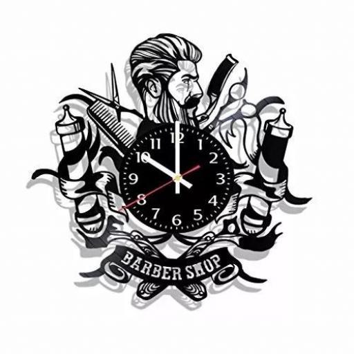 Reloj de Pared Barberia Style 12