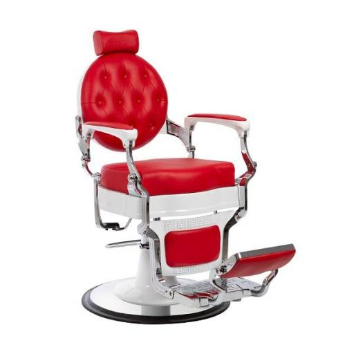 Sillon Barbero Galaxy Rojo