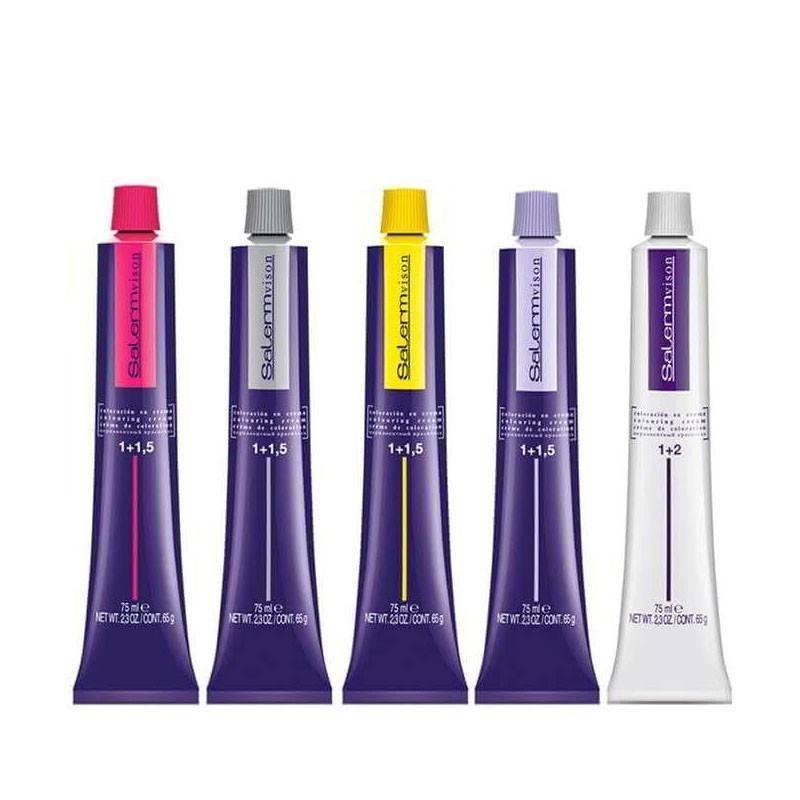 Tinte Salermvision Colores Marrones Frios 75 ml