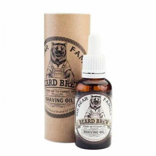 Aceite para Barba MR Bear Family Beard Brew Shaving Oil 30 ml