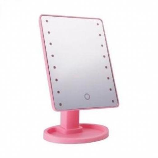 Espejo LED Rosa [0]