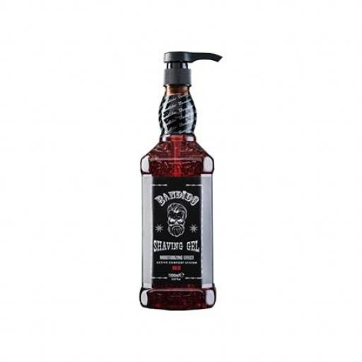 Shaving Gel Red Bandido Gel Afeitado 1000 ml