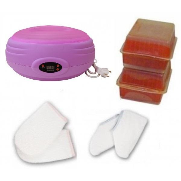Kit Parafina Completo con Calentador Digital