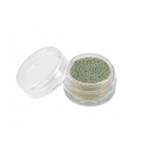 Perlas Caviar Plata Verde