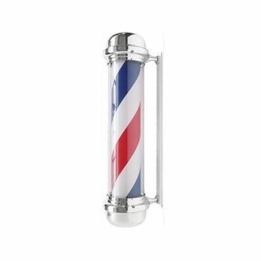 Poste Barbero Cromado