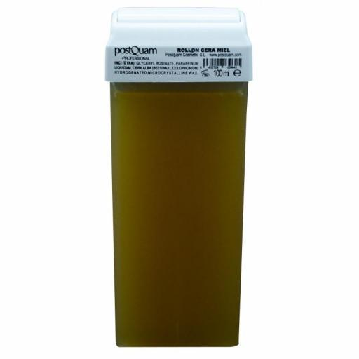 24 Cartucho de Cera Roll On Natural 110 ml