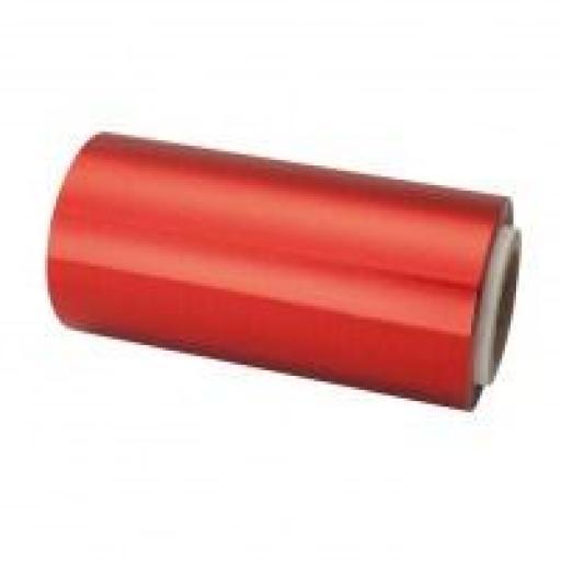 Rollo Aluminio Rojo 70 mt