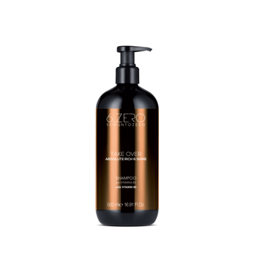 Shampoo 6.Zero Cabello Seco y Mate Take Over Absolute Rich & Shine 500 ml [0]