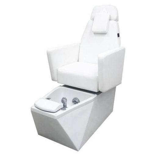 Sillon Pedicura Blanco Tonye
