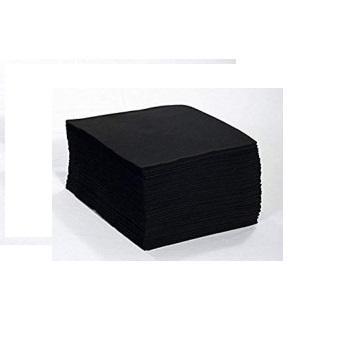 100 Toallas Negras Desechables Peluqueria 40 x 80
