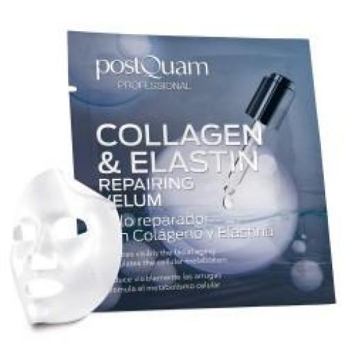 Velo Colageno y Elastina Reparador Facial