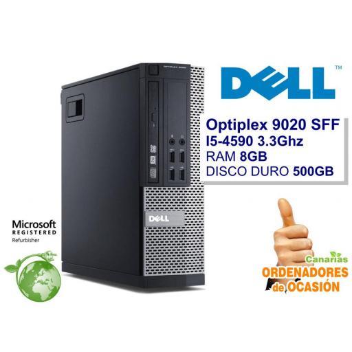 Lote 5  - DELL OPTIPLEX 9020 SFF i5-4590 - 8GB