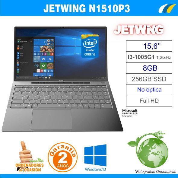 NUEVO - Intel Core i3-1005G1 - 8GB - 256GB SSD - JETWING N1510P3