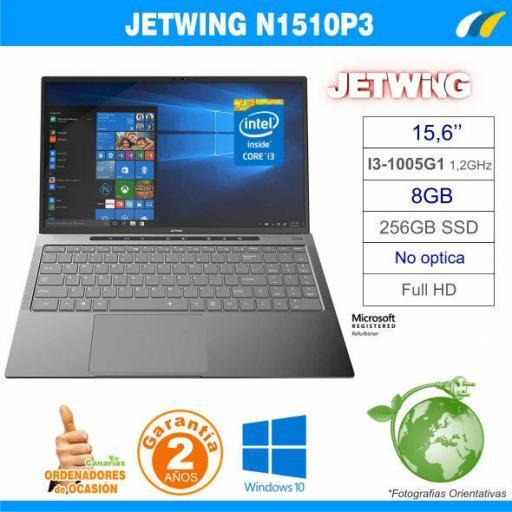 NUEVO - Intel Core i3-1005G1 - 8GB - 256GB SSD - JETWING N1510P3 [0]