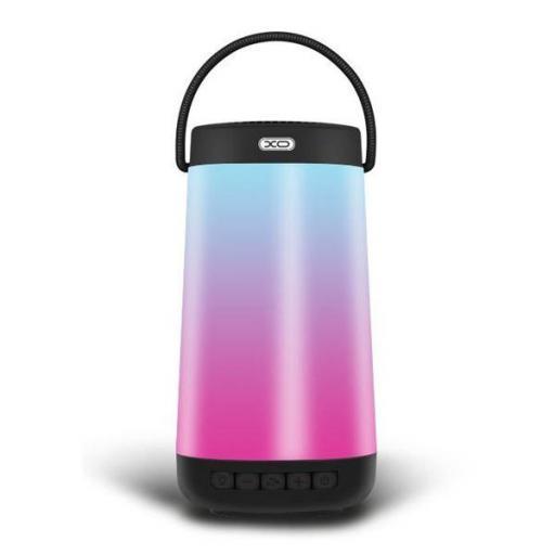 Altavoz F11 Bluetooth Iluminación Led Negro XO