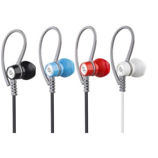 Auricular + Micro Running Sport V5 Bluetooth + Micro Sd Azul Coolsound [1]