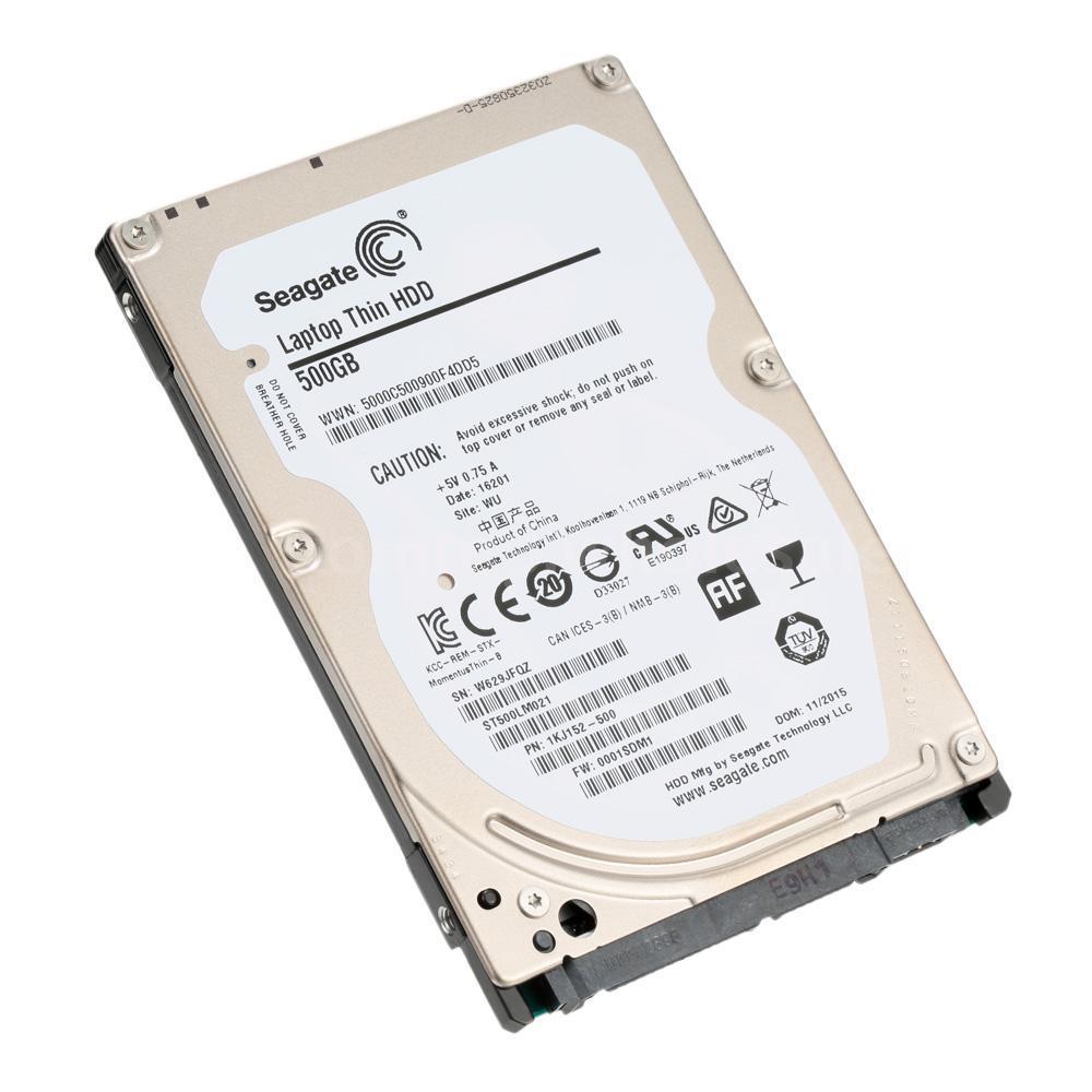 Disco duro 500GB Seagate Laptop Thin HDD
