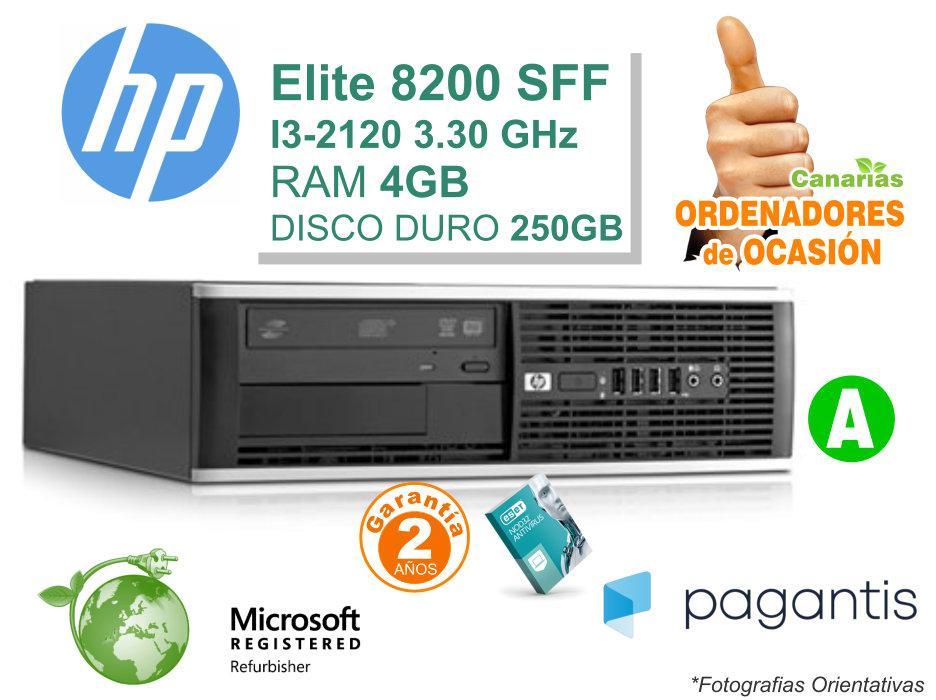 Intel I3-2120 3.30GHz 4GB 250GB - HP COMPAQ 8200 ELITE PC
