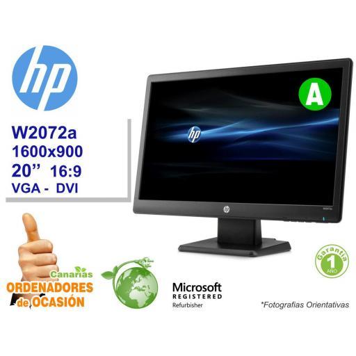 NUEVO HP PRODESK 600 G1 DM + Monitor HP W2072a LED [1]