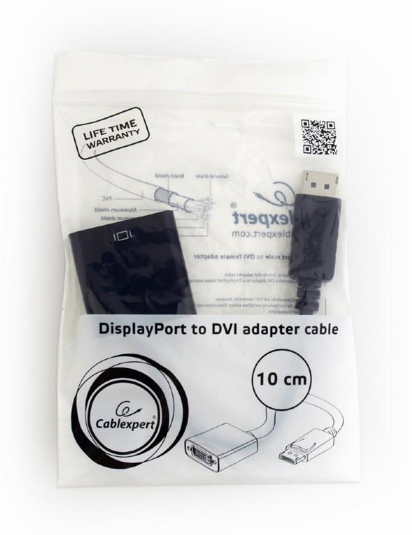 Adaptador DisplayPort macho a DVI hembra