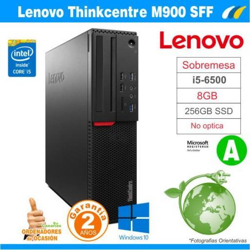 Monitor B23T-6 LED + LENOVO THINKCENTRE M900 SFF  [2]