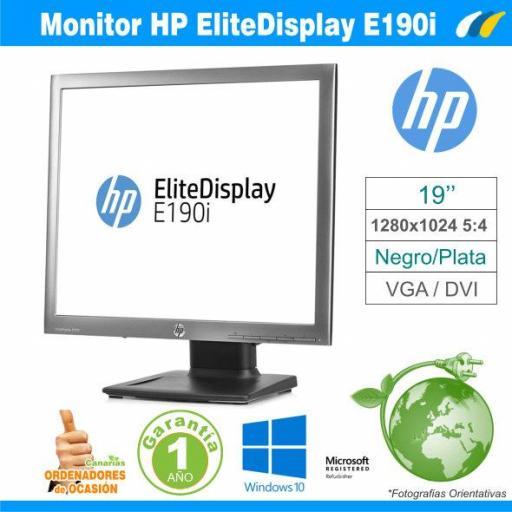 Monitor HP EliteDisplay E190i 19''