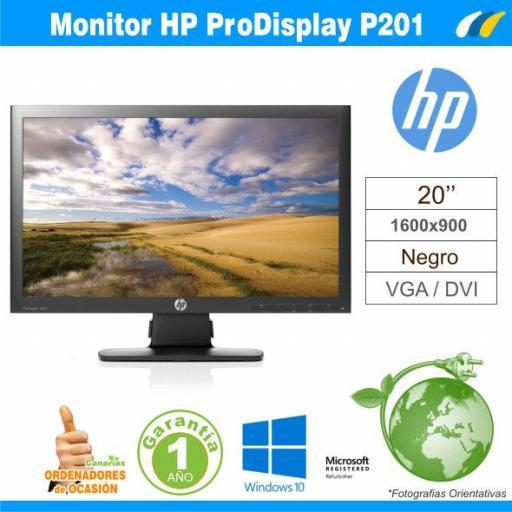 Monitor ProDisplay P201 20'' - C9F26AA