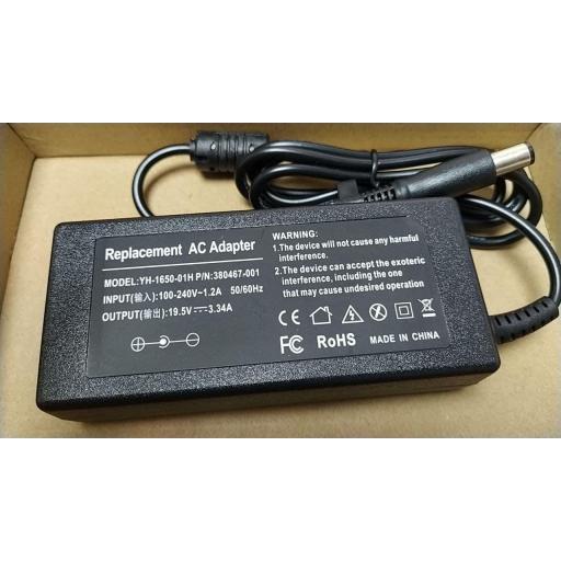 Cargador Compatible Dell 65W YH-1650-01H 65W 19.5V 3.34A
