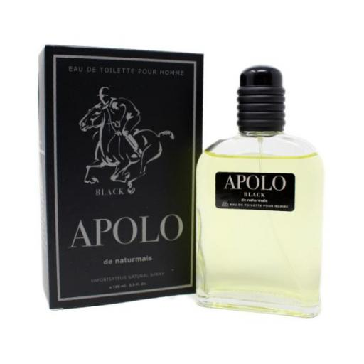 Apolo Black Homme Naturmais 100 ml.