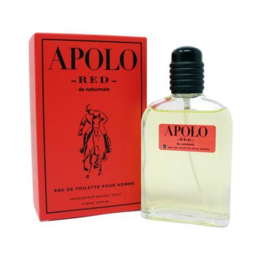 Apolo Red Homme Naturmais 100 ml.