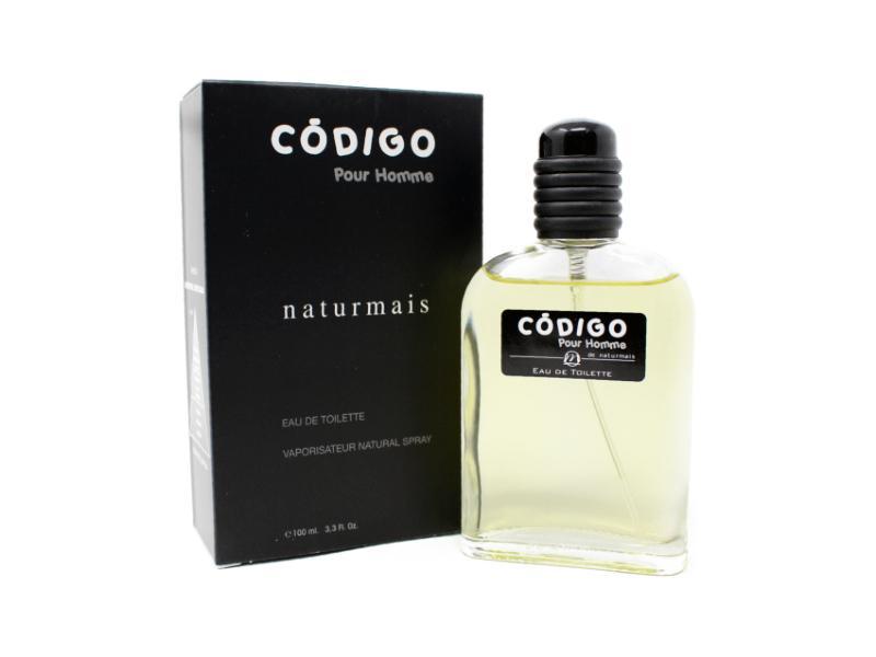 Código Black Homme Naturmais 100 ml.