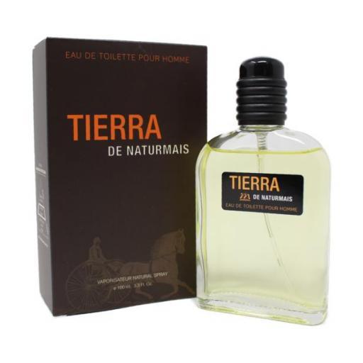 TIERRA Pour Homme Naturmais 100 ml.