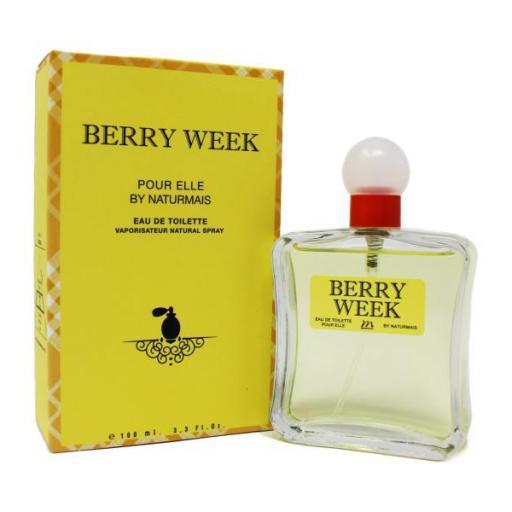 Berry Week Pour Femme Naturmais 100 ml.