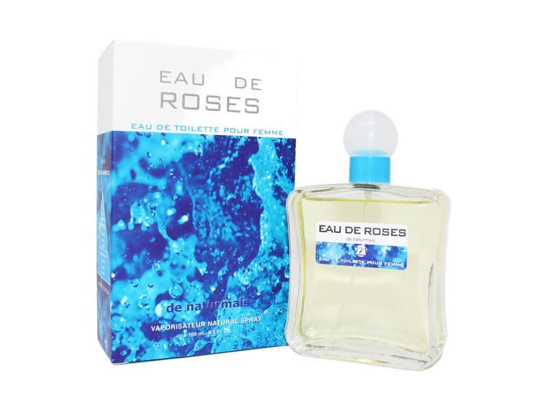 EAU DE ROSES Pour Femme Naturmais 100 ml.