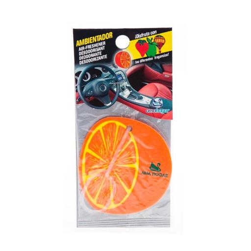 Ambientador Coche Boscalia Naranja 5 Gr.
