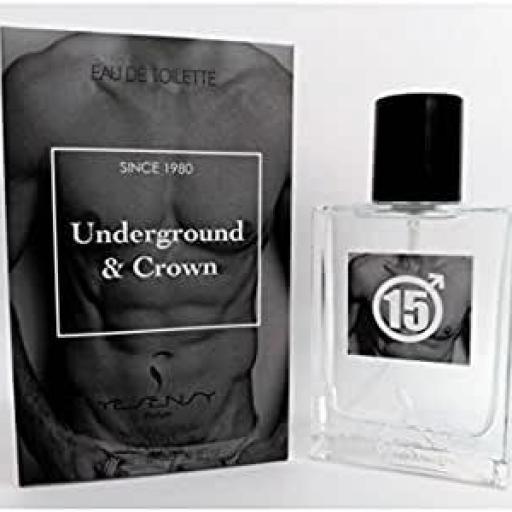 Underground & Crown Pour Homme Yesensy 100 ml.