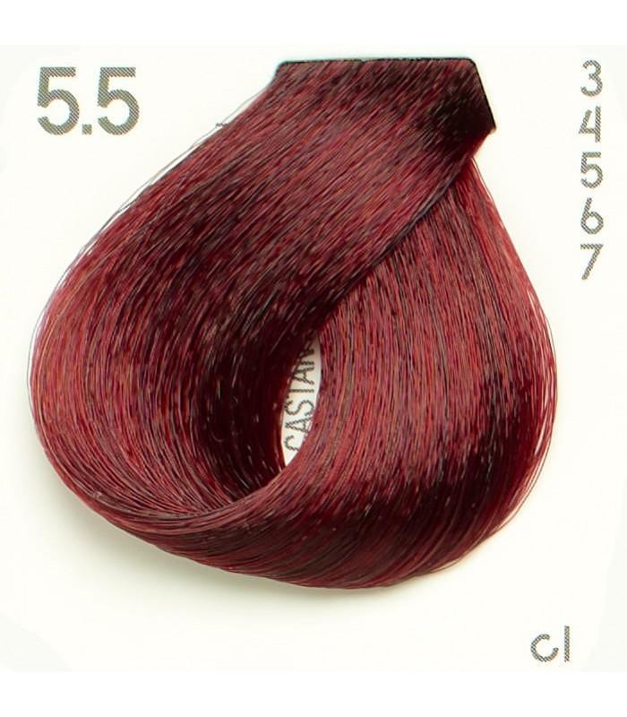 Tinte Nº 5.5 Hairconcept Evolution Orgánic 60 ml.
